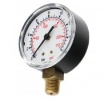 Манометр RAIFIL 160 psi/1,2Мпа/12 атм. (панель глицерин) диаметр 40мм  1/4
