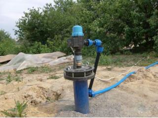 Очистка воды из скважины в Полтаве